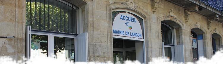Accueil Mairie de Langon