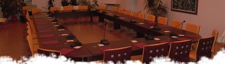 Salle du conseil Municipal de Langon