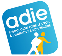 Logo Association pour le Droit à l'Initiative Economique (ADIE)